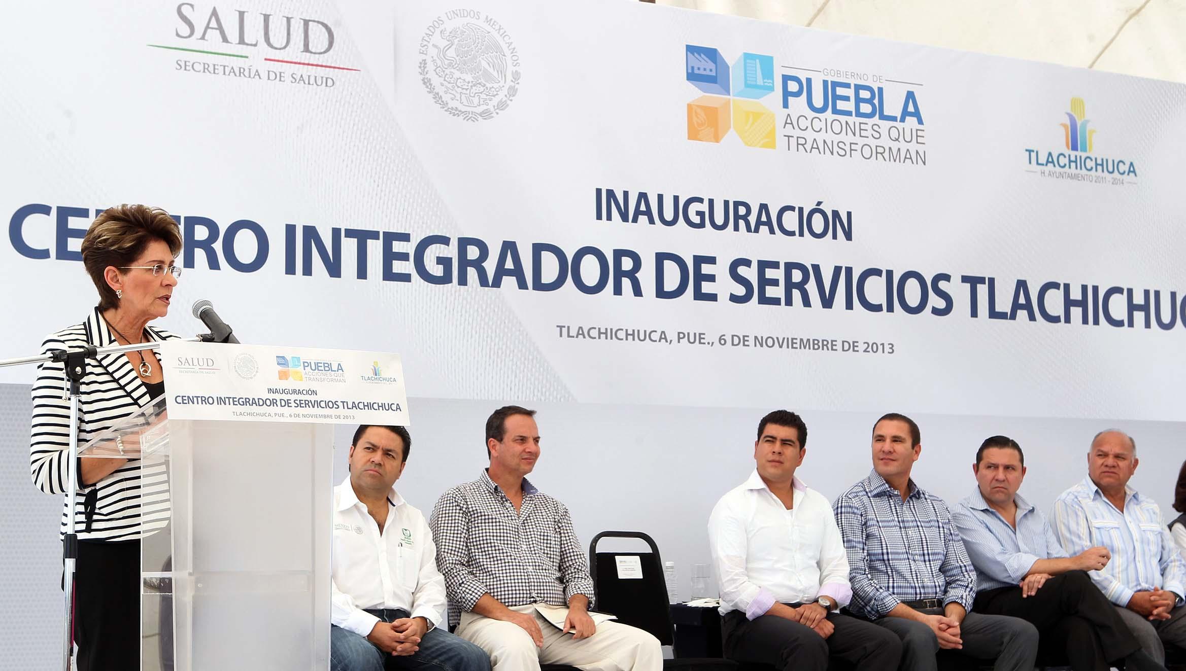 Centro Integrador de Servicios  Tlachichuca