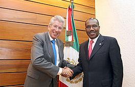 Gerardo Ruiz Esparza y Hamadoun Touré
