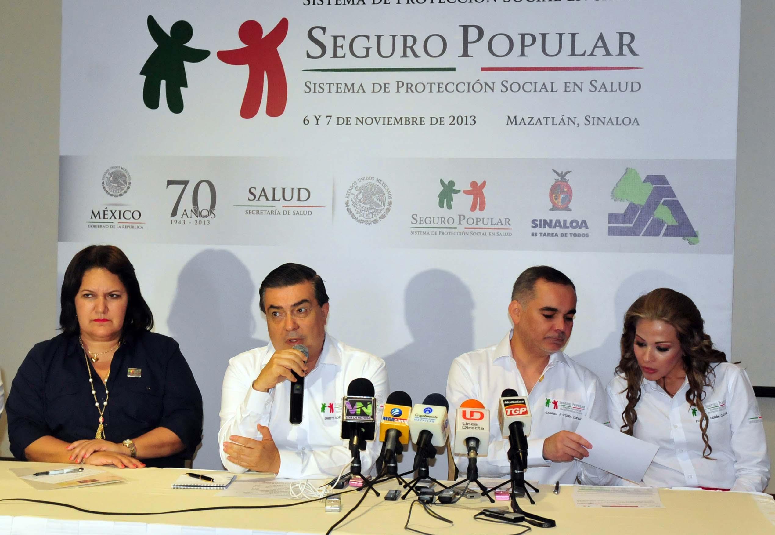 Inicia la 2ª Reunión del Sistema Nacional de Protección Social en Salud