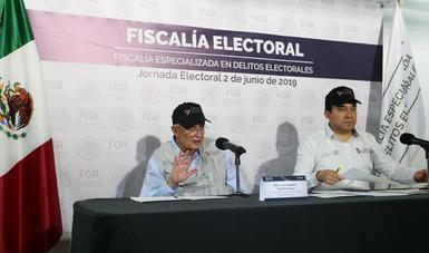 Fiscalía Especializada en Delitos Electorales recibe 35 denuncias en lo que va de la Jornada Electoral.