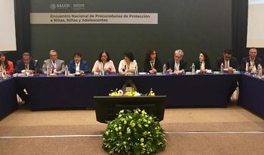 Encuentro Nacional de Procuradurías de Protección de Niñas, Niños y Adolescentes.