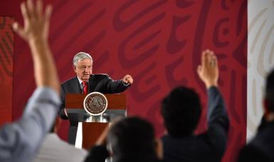Presidente Andrés Manuel López Obrador