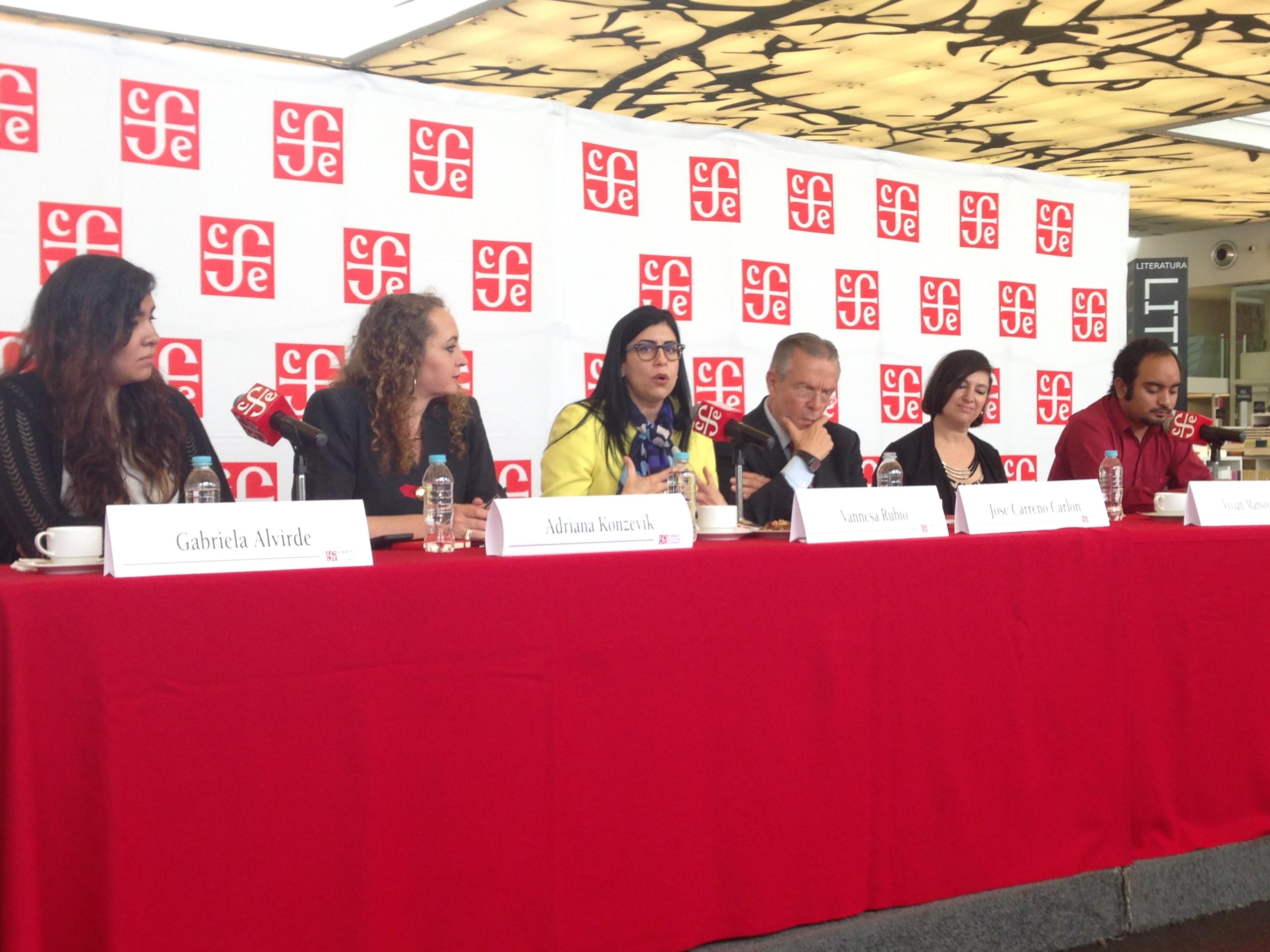 La subsecretaria Vanessa Rubio participa en el lanzamiento del Concurso Internacional de Booktubers