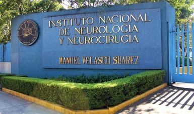 Fachada del Instituto Nacional de Neurología y Neurocirugía.