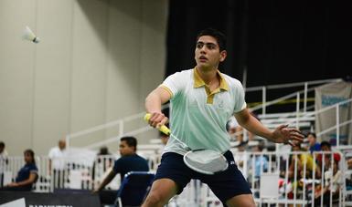 Competirá en la justa continental junto a su compañero Andrés López, en dobles varonil.