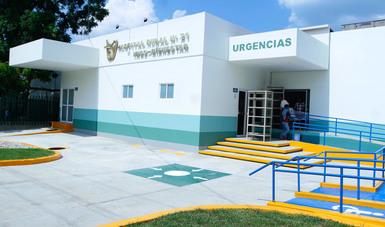Fachada del Hospital Rural No. 21 IMSS BIENESTAR