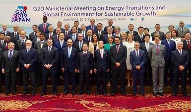 Acude subsecretaria Martha Delgado a la Reunión Ministerial del G20 sobre transiciones energéticas y medio ambiente