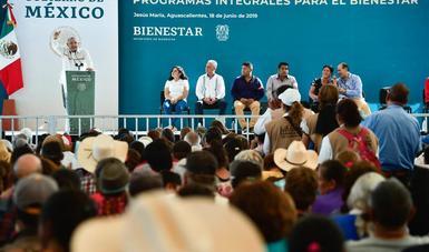 En Aguascalientes, presidente