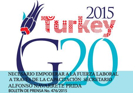 G20 Turquía 2015