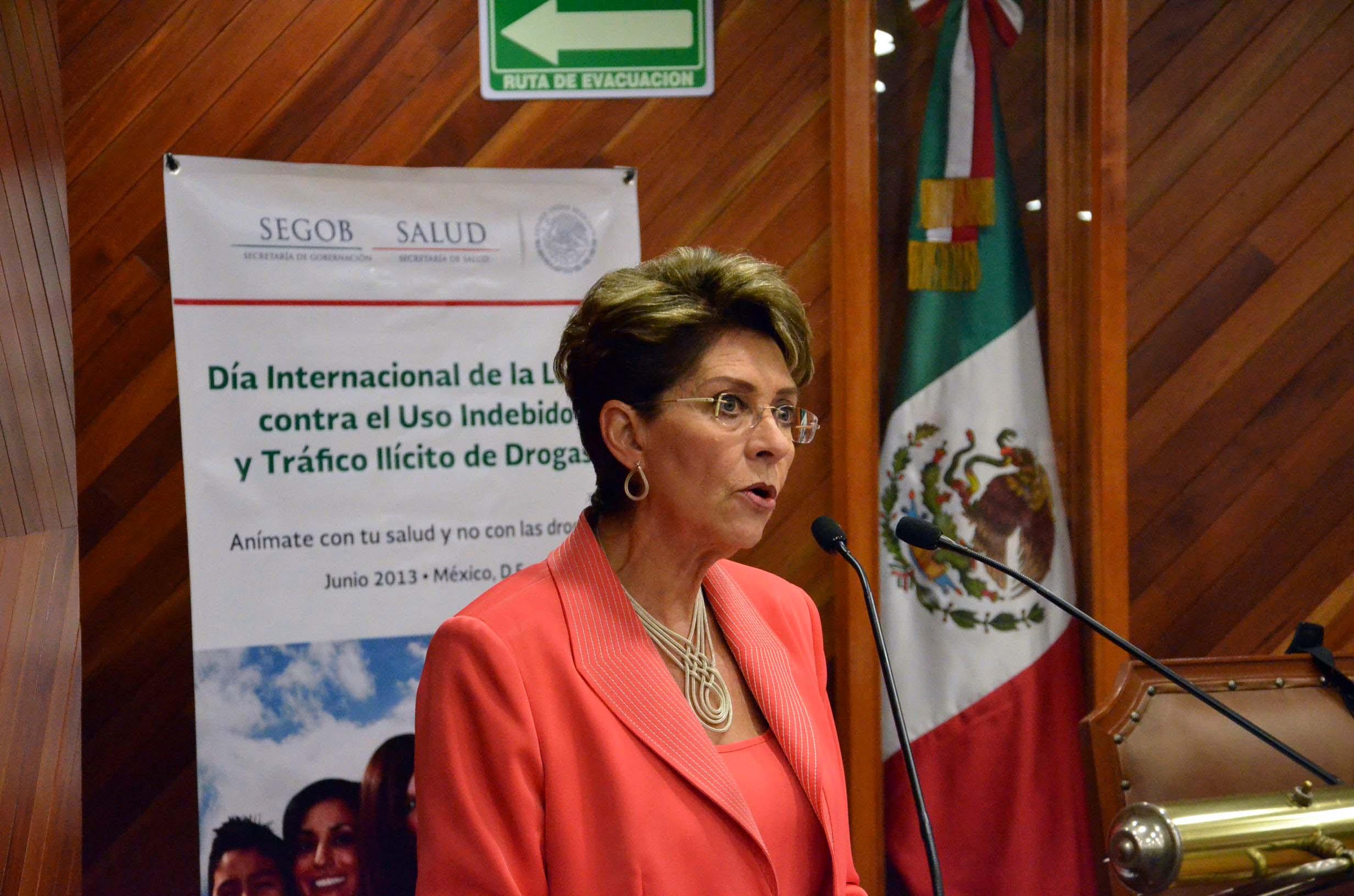 Conmemoración del Día Internacional de la Lucha contra el Uso Indebido y el Tráfico Ilícito de Drogas