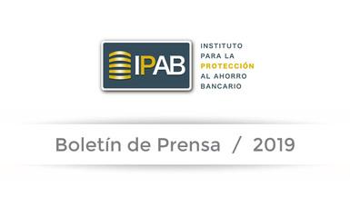 Boletín de Prensa 04-2019.