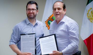 INSUS y municipio de Piedras Negras firman convenio de colaboración para impulsar Programa de Mejoramiento Urbano