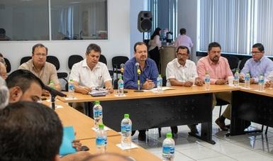 En reunión con líderes de las organizaciones pesqueras, anuncia el comisionado cambios en las Reglas de Operación para el próximo año.