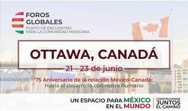 Del 21 al 23 de junio se celebró en Ottawa, Canadá el primer Foro Global del IME
