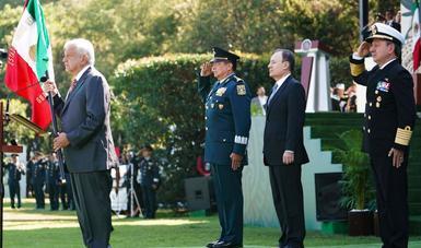Presidente López Obrador encabeza inicio de la Guardia Nacional