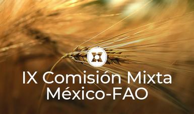 Como resultado del encuentro se suscribió un acta de acuerdos, que destaca el interés de ambas partes de continuar programando y realizando misiones conjuntas AMEXCID-FAO .
