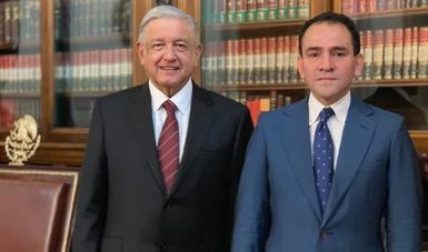 Presidente López Obrador nombra a Arturo Herrera Gutiérrez como nuevo titular de la SHCP