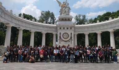 Culminan los primeros días de visita en CDMX en  el marco del Programa de Inmersión Cultural y Voluntariado 2019