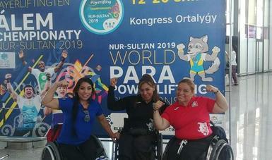 La tricampeona paralímpica competirá el 15 de julio.