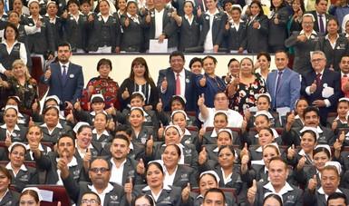Egresan a nivel nacional 287 profesionales de la Escuela de Enfermería e Investigación del ISSSTE