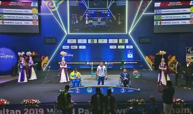 En las competencias juveniles subieron al podio María Princesa Franco, Fátima Castellanos y Juan Ramírez.