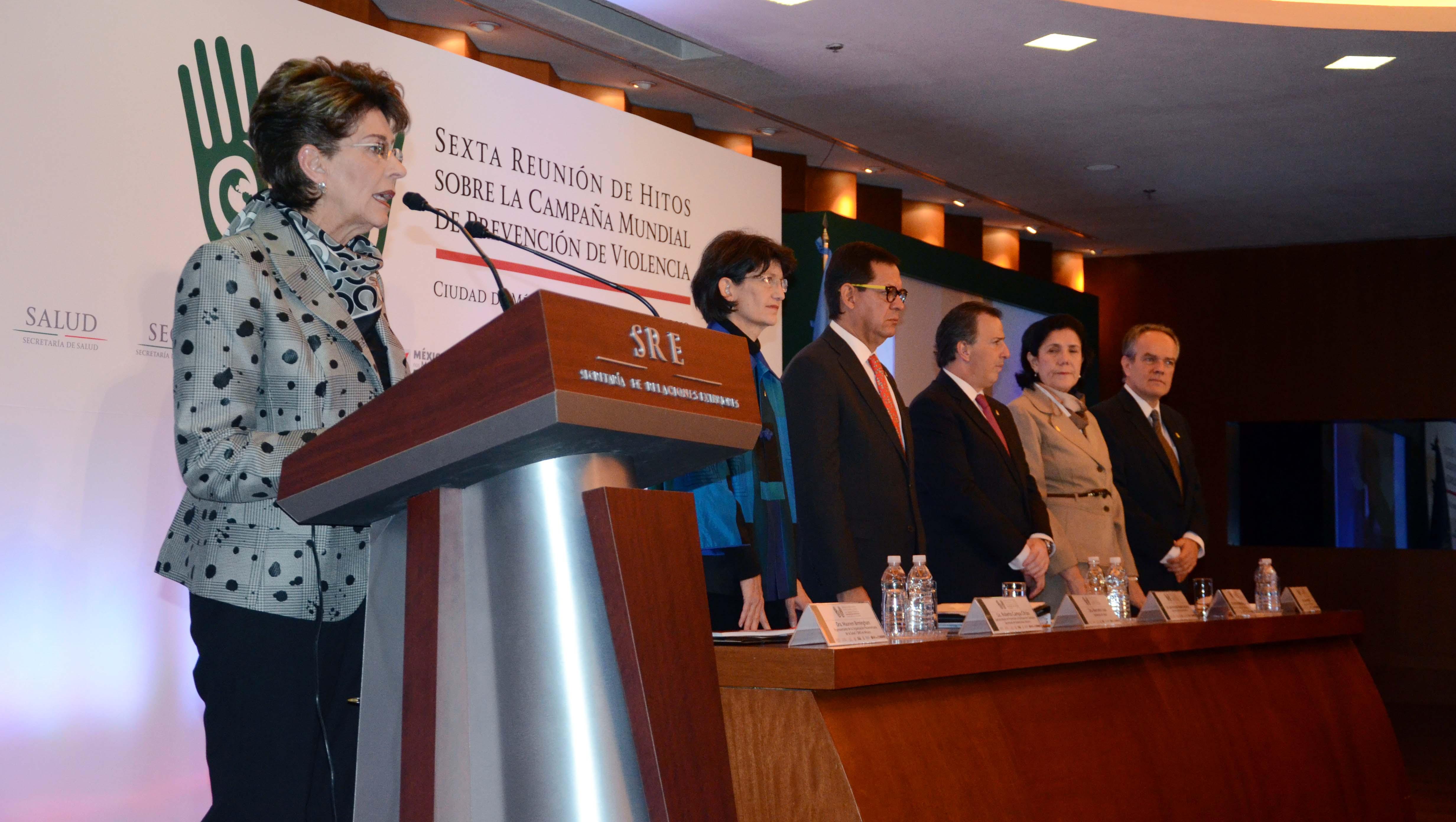Sexta Reunión de Hitos de la Campaña Mundial de Prevención de la Violencia