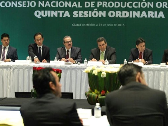 La superficie sembrada de productos orgánicos asciende a 512 mil 246 hectáreas, 169 mil 570 productores se dedican a esta actividad que genera 245 mil empleos y divisas por 600 millones de dólares.