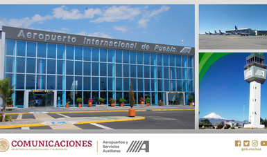 """Aeropuerto Internacional de Puebla, participa en el ejercicio binacional de secuestro de aeronave """"Amalgam Eagle 2019"""""""