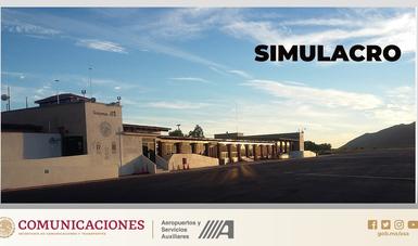 """Aeropuerto de Guaymas realizará simulacro de """"Incendio de aeronave en tierra"""""""