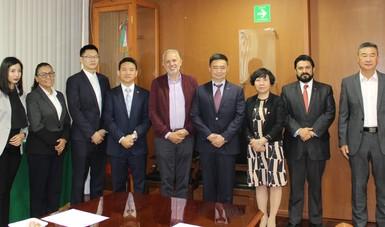 El director del INIFAP, Dr. José Fernando De la Torre Sánchez, saludo a la delegación china