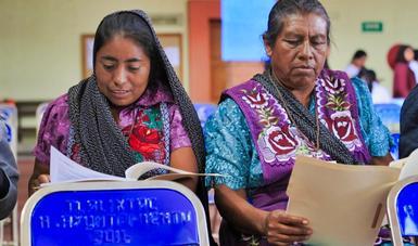 Pueblos indígenas se suman a la actual transformación nacional con propuesta de reforma constitucional