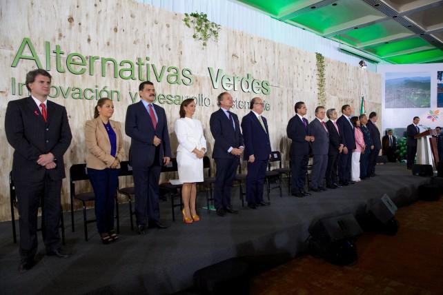 México es un país comprometido con un crecimiento económico responsable, que impulsa el desarrollo sustentable y protege su patrimonio natural.
