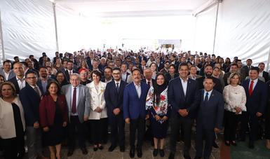 El Secretario Román Meyer Falcón participó en la inauguración de la primera mesa regional del Proceso Nacional de Armonización Normativa en materia de Movilidad.