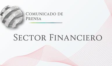 Comunicado de Prensa Sector Financiero