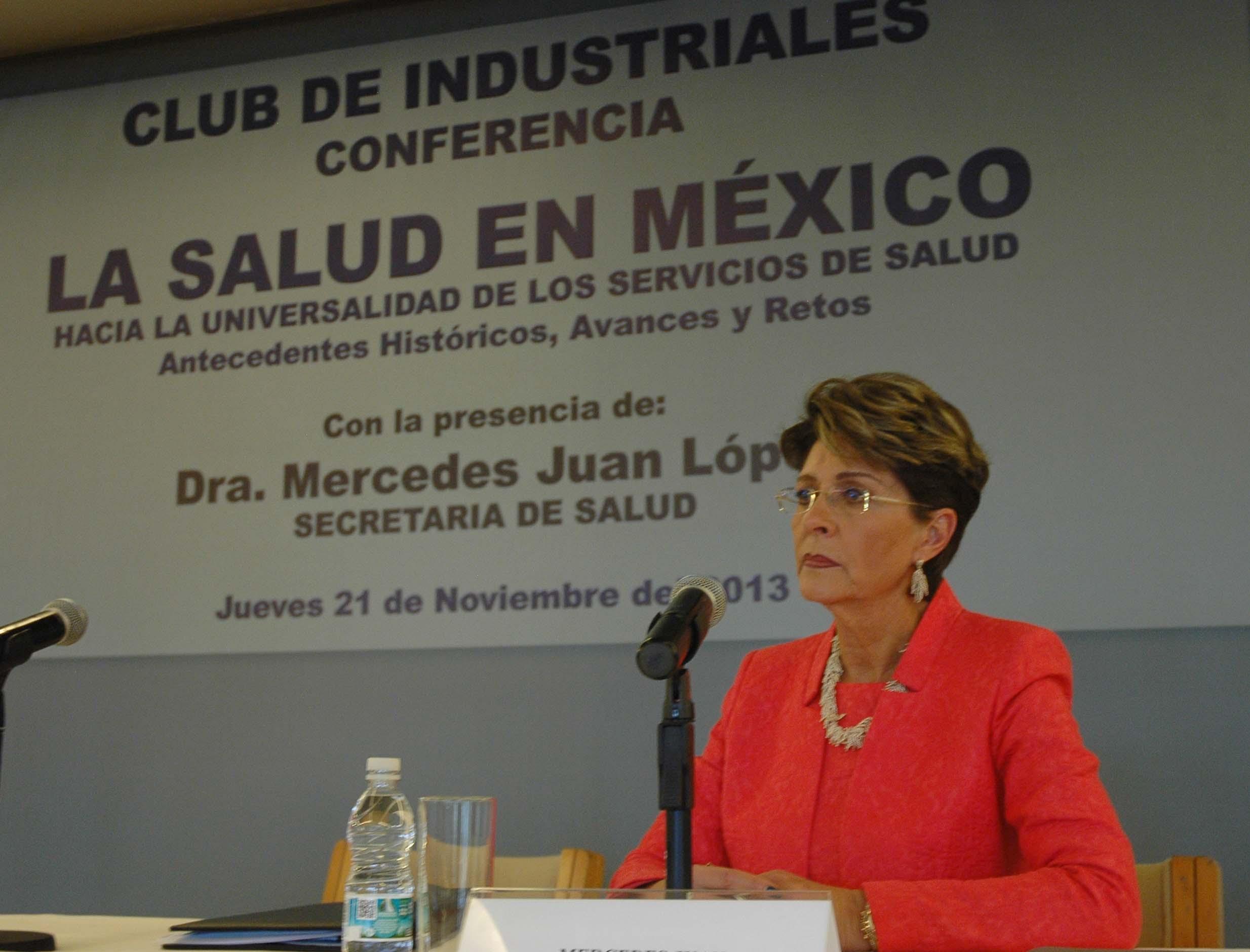 Conferencia magistral hacia la universalidad de los servicios de Salud