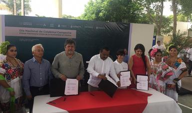 Se firmó el Pacto Calakmul
