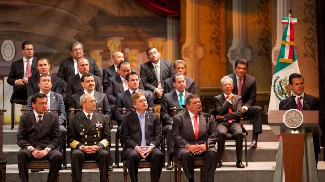 El Primer Mandatario encabezó la ceremonia conmemorativa del Centenario de la Soberana Convención Revolucionaria de Aguascalientes.
