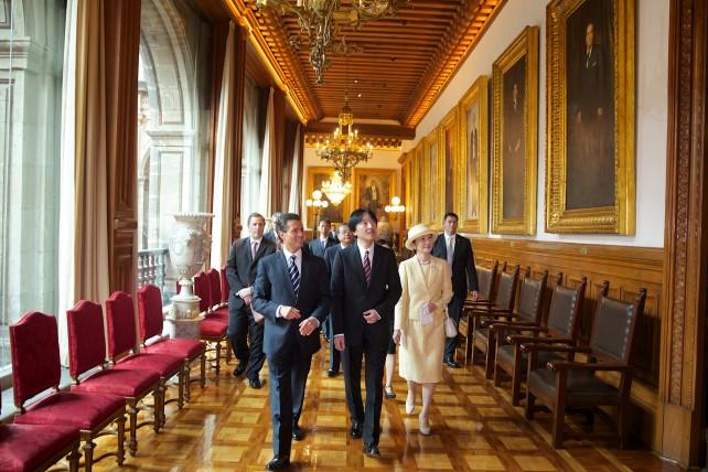 """""""Japón y México somos países hermanados por la historia, y aliados estratégicos en un mundo cada vez más dinámico e interdependiente""""."""