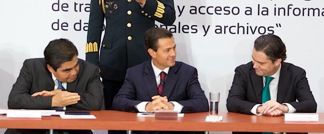 El Presidente de la República encabezó la clausura de la Semana Nacional de Transparencia