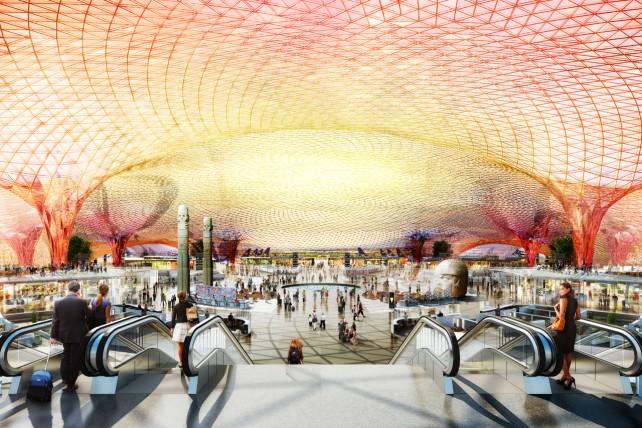 El nuevo aeropuerto será el primero en su tipo en obtener la certificación Leed Platino como edificación sustentable.