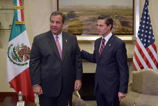 El Presidente Peña Nieto recibe al Gobernador de Nueva Jersey