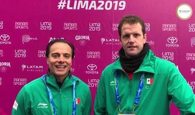 Rodrigo Ledesma y Miguel Urrutia subieron al tercer lugar del podio tras vencer a Estados Unidos en pelota de cuero.