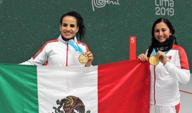 La selección mexicana cosechó cinco preseas áureas y una plata.