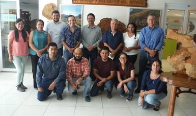 El Dr. José Villanueva Díaz, encabezó la capacitación para el análisis del clima en los anillos de los árboles