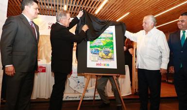 La Carrera Panamericana se llevará a cabo del 10 al 17 de octubre próximo y será presenciada por más de un millón de espectadores.