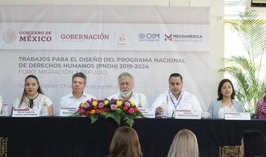 Subsecretario de Derechos Humanos, Población y Migración, Alejandro Encinas Rodríguez