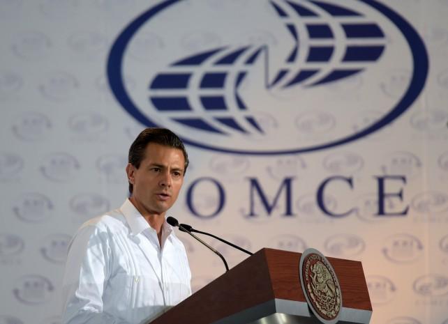 El Primer Mandatario clausuró el 21º Congreso del Comercio Exterior Mexicano
