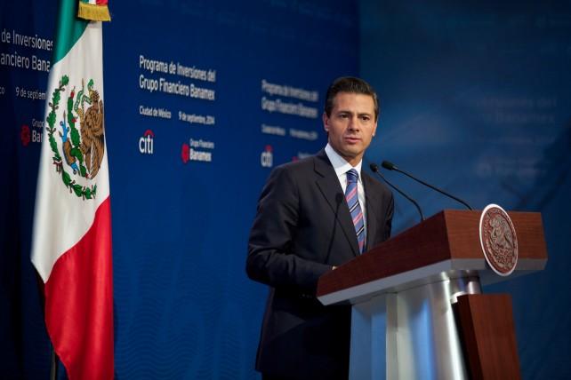 El Primer Mandatario encabezó la presentación del Programa de Inversiones del Grupo Financiero Banamex