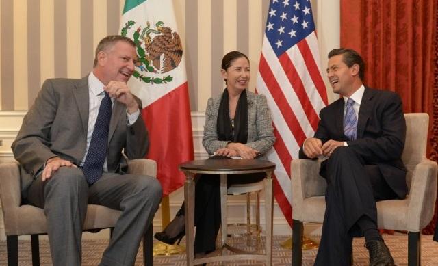 El Presidente Peña Nieto y el Alcalde reconocieron que el cambio demográfico en Estados Unidos se traduce en una creciente participación de la comunidad hispana