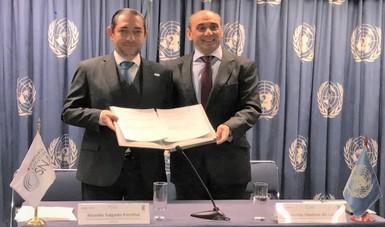 PNUD y SESNA firman Memorándum de Entendimiento para combatir la corrupción en los sectores público y privado